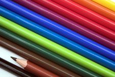 Free Colourful Pencils Stock Photos - 188563