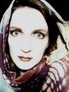 Free Woman Wearing Scarf Portrait Stock Image - 1809951