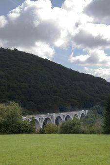 Free The Old Railroad Bridge Stock Photography - 1801422