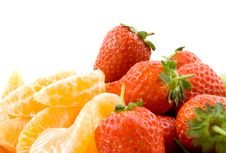 Red And Orange Stock Photography