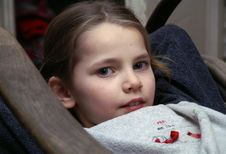 Free The Lying Girl Stock Photography - 1802562
