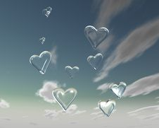 Free Love Is In The Air 3 Royalty Free Stock Images - 1803179