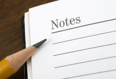 Free Notes. Stock Images - 1803614