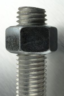 Nut And Bolt. Royalty Free Stock Photography