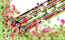 Free Floral Background, Vector Stock Photography - 1804192