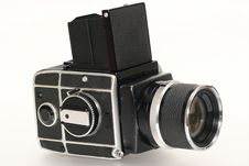 Free Medium Format Camera With Lens Royalty Free Stock Photos - 1805678