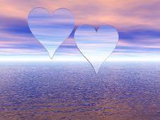 Free Hearts Royalty Free Stock Photos - 1806088