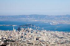 Free Downtown San Francisco Stock Image - 1807541