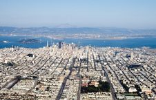 Free Downtown San Francisco Royalty Free Stock Photography - 1807557
