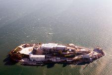 Free Aerial View Of Alcatraz Stock Photo - 1807580