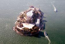 Free Aerial View Of Alcatraz Royalty Free Stock Photos - 1807588