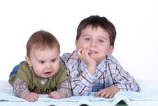 Free Baby And Boy Stock Image - 1808701