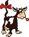 Free Cartoon Cow Royalty Free Stock Photo - 18002035