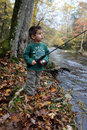 Free Boy Fishing Royalty Free Stock Photos - 18009058