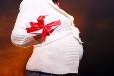 Free Young And Beautiful Pregnant Woman Stock Images - 18000684