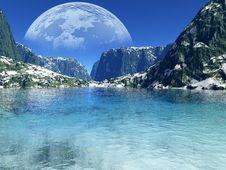 Free Colorful Fantasy Landscape Stock Images - 18000744