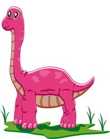 Free Baby Brontosaurus Stock Image - 18001011