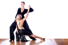Free Dancers In Ballroom Royalty Free Stock Images - 18002399