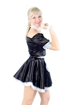 Free Woman French Maid Royalty Free Stock Image - 18002566