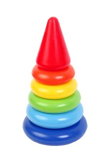 Free Child Pyramid Rainbow Stock Images - 18002904