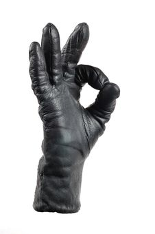 Free A Hand In A Glove Stock Photography - 18003042
