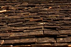 Old Roof Royalty Free Stock Photography