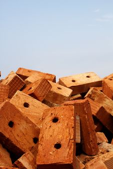 Free Brick  Heap  Stone Stock Photo - 18003180