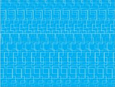 Blue Background With Squares Royalty Free Stock Photography