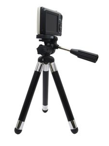 Camera On A Tripod Royalty Free Stock Photo