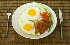 Free Bacon And Eggs Royalty Free Stock Images - 18003789