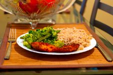 Free Dinner Stock Image - 18004121