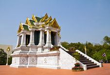Free Marble Church (Thai Style) Stock Image - 18004141