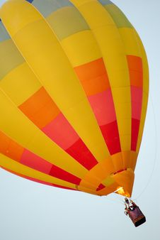 Free Hot Air Balloon With Fire Stock Image - 18004231