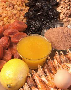 Free Healthy Food Ingredients Stock Image - 18004301