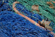 Free Fishing Nets Royalty Free Stock Photos - 18004368