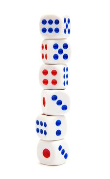 Free Six Dice Stock Images - 18004514