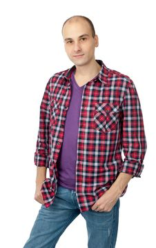 Free Young Fashion Smiling Man Royalty Free Stock Photography - 18004607
