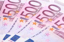 Free Five-hundredth Euro Banknotes Stock Image - 18004711