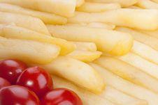 Free Fried Potato Royalty Free Stock Images - 18004839