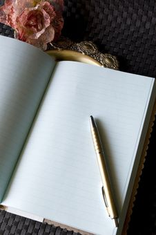 Free Blank Page Of Journal Stock Images - 18005194