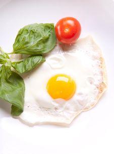 Free Fried Egg With Tomato Stock Photos - 18006303
