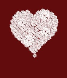 Free Abstract Heart Stock Image - 18006341