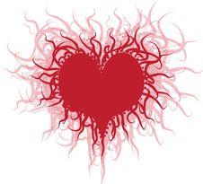 Free Abstract Heart Royalty Free Stock Photos - 18006378
