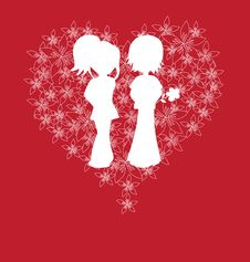 Free Valentine S Day Card Stock Photography - 18006412