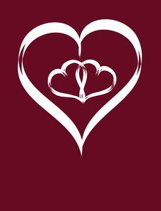 Free Abstract Heart Royalty Free Stock Photo - 18006495