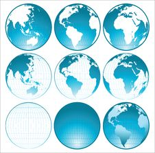 Free Globes Royalty Free Stock Images - 18006899