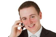 Free Friendly Businessman Royalty Free Stock Photo - 18007205