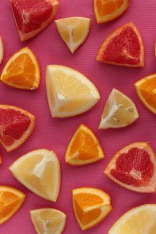 Free Citrus Fruits Background Stock Image - 18007491