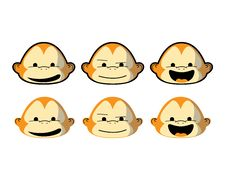 Free Monkey Faces Stock Images - 18007674