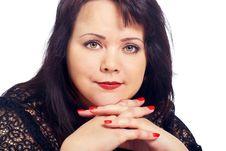 Free Portrait Of Woman In Studio Stock Photo - 18007760